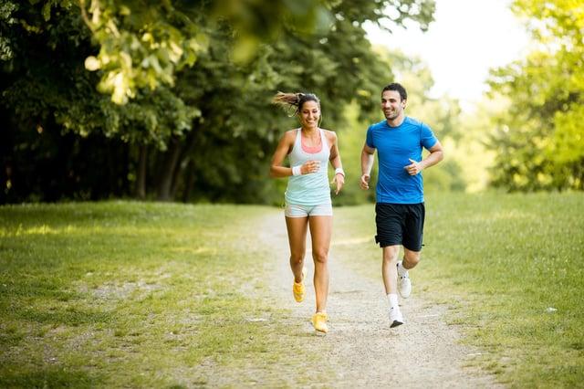Running has become more popular around the UK (Photo: Shutterstock)