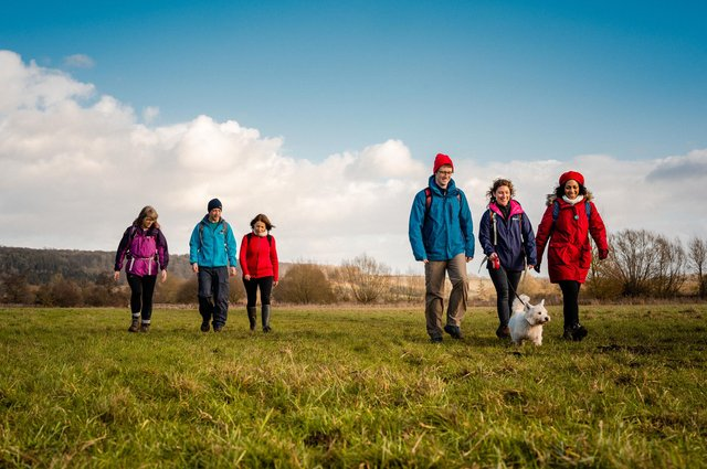 Well over 140,000 miles of public paths criss-cross England and Wales. This network has evolved over centuries with many paths dating back to medieval times - or earlier - linking villages, hamlets, roads and towns.