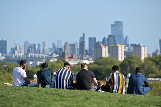 From 29 March, up to six people or two households will be allowed to gather in parks and private gardens (Photo: JUSTIN TALLIS/AFP via Getty Images)
