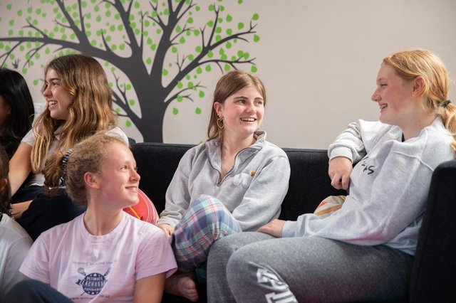 Whether they are day pupils or boarders, the support girls receive at Queen Margaret's, York, goes far beyond the classroom.