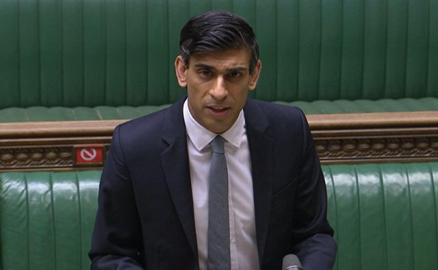 Chancellor Rishi Sunak said the initiative - Help to Grow - could benefit up to 130,000 small and medium sized businesses (SMEs) across the country. (Pic: PA)