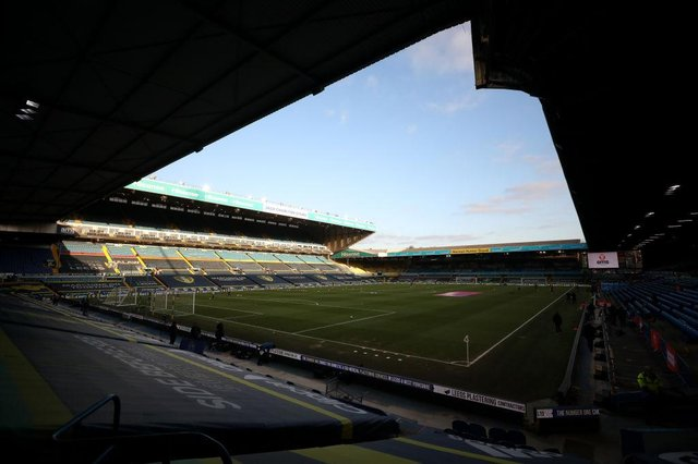 Elland Road. (Photo by Naomi Baker/Getty Images)