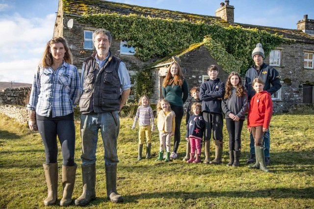 Our Yorkshire Farm has returned for a fourth series (Channel 5)