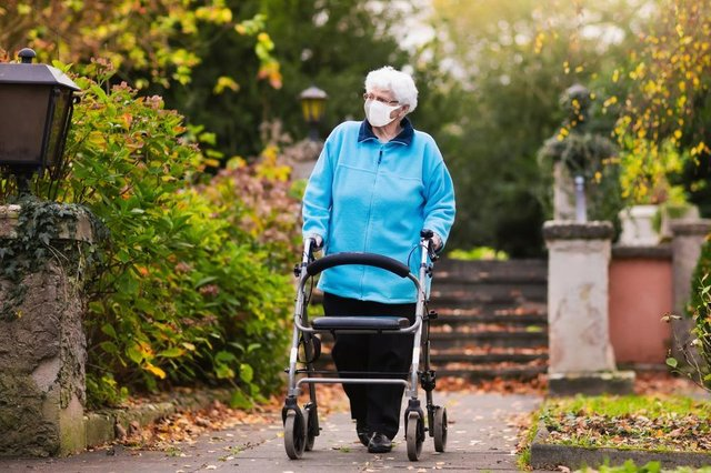 Residents of care homes in England are now allowed out for 'low risk' visits without isolating for 14 days on return (Photo: Shutterstock)