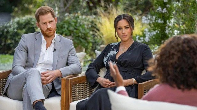 The Duke and Duchess of Sussex talked to Oprah Winfrey in a revealing interview viewed by millions (CBS)
