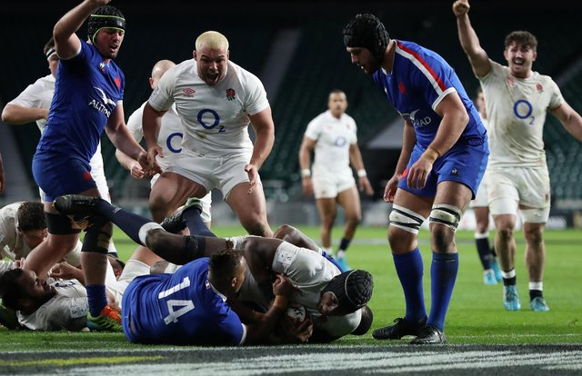 A late try from Maro Itoje helped England clinch victory last time out over France in the 2021 Six Nations at Twickenham. (Pic: Getty Images)