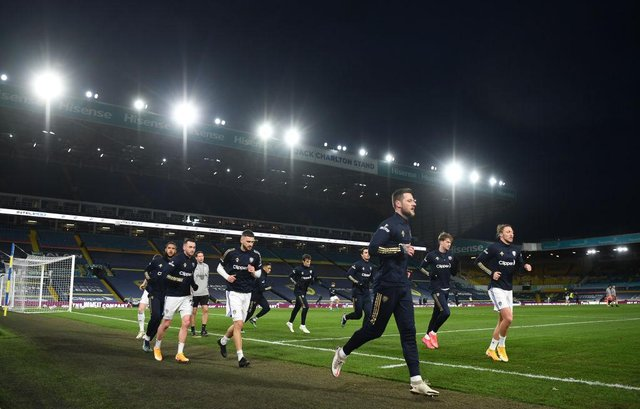 Leeds United at Elland Road. (Photo by Gareth Copley/Getty Images)