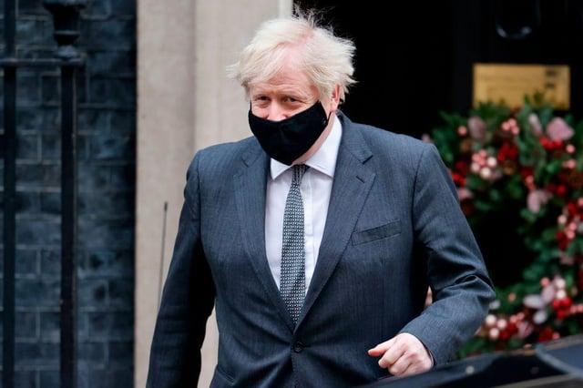 This is when Boris Johnson will be making his speech (Photo: TOLGA AKMEN/AFP via Getty Images)