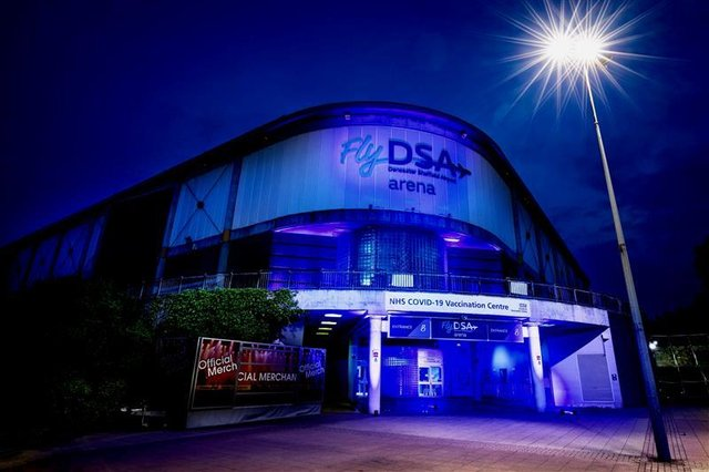 Sheffield Arena as a Covid-19 vaccination centre  - described as the most important event the venue has and will ever host