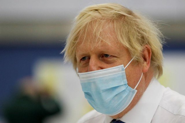 Boris Johnson and the Westminster government will review lockdown restrictions during the week starting February 15 (Getty Images)