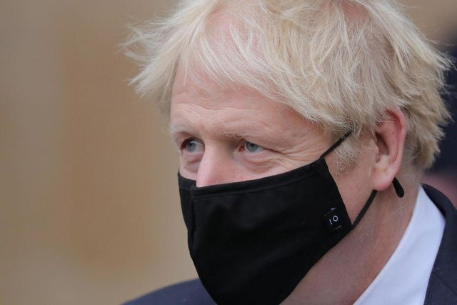 Prime minister Boris Johnson placed England in lockdown on 5 November 2020. (Pic: Getty Images)
