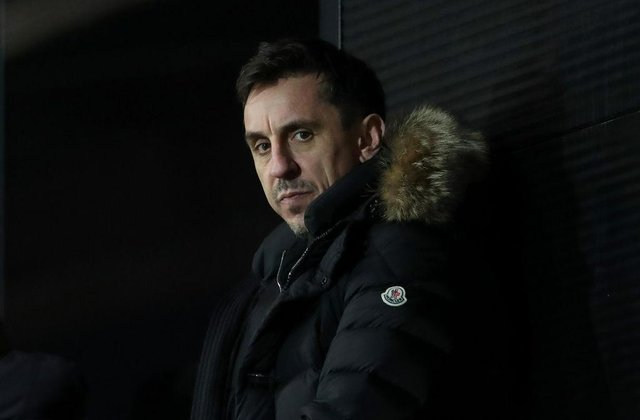Gary Neville. (Photo by Alex Livesey/Getty Images)