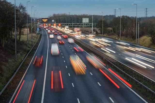 Half of drivers admitted not knowing the rules around smart motorways