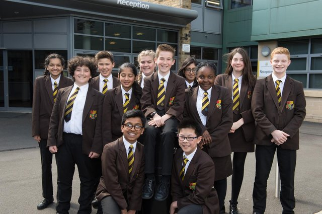 Heckmondwike Grammar School provides an outstanding education to students aged 11-18