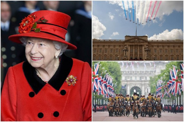 The UK will enjoy an extra bank holiday in 2022 to celebrate the Queen's Platinum Jubilee (Photo: Leon Neal/Daniel Leal-Olivias/Steve Parsons/Getty Images)