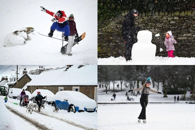 How much snow has your area experienced?