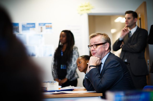 Michael Gove announced primary school children will be the first to return to school in January (Picture: Getty images)