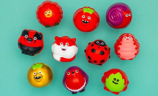 The red noses for this year's Comic Relief campaign are plastic free and made from plant-based materials (Comic Relief)