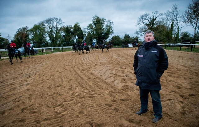Gordon Elliott, a leading horse racing trainer who has won the Grand National three times, is at the centre of a an IHRB investigation. (Pic: PA)