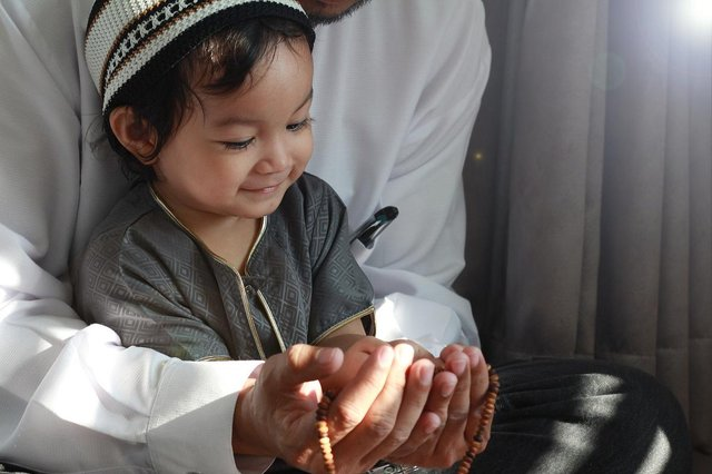 Eid al-Fitr is the breaking of fast after the month of Ramadan, families also come together to pray and share celebratory food (Picture: Shutterstock)