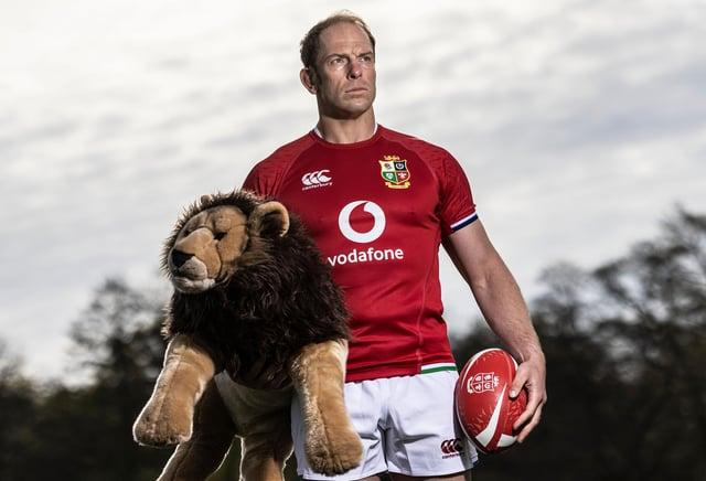 British & Irish Lions captain for the 2021 Tour to South Africa, Alun Wyn Jones. Pic: ©INPHO/Dan Sheridan