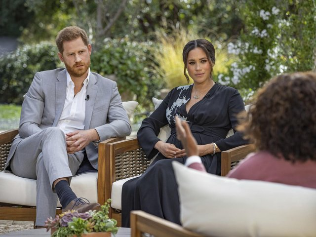 Viewers in the UK will be able to watch Harry and Meghan's interview on ITV on 8 March. Photo by Misan Harriman, Copyright owned by The Duke and Duchess of Sussex © 2021/Getty Images