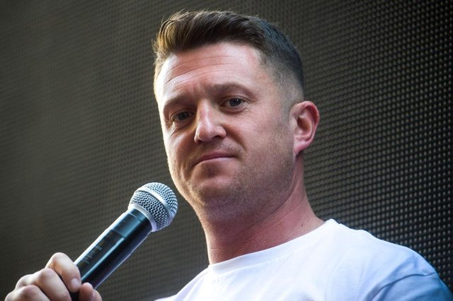 Tommy Robinson has been accused of misspending supporter donations (Getty Images)